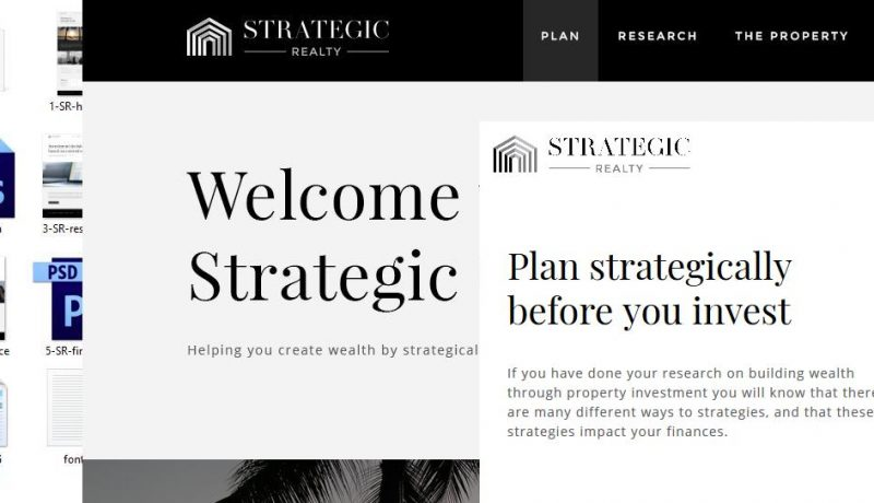 Jasa Konversi PSD ke Tema Website HTML Strategic Realty