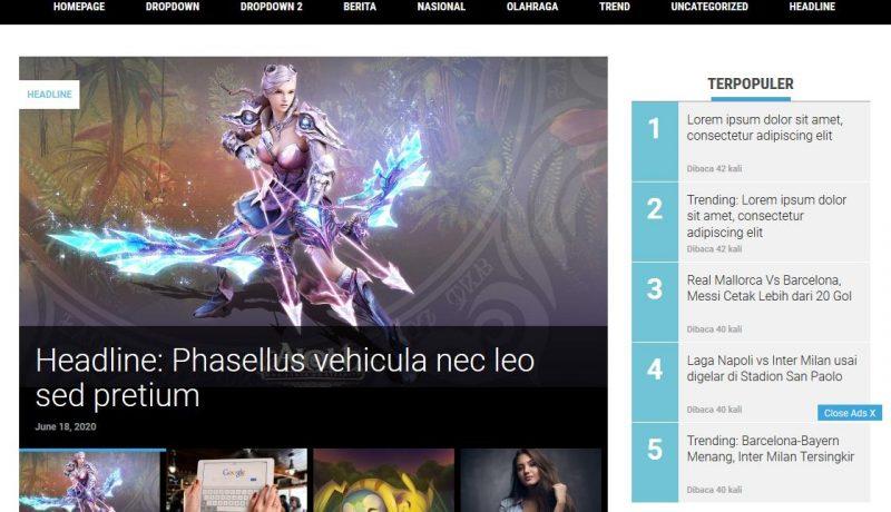 Jasa Cloning Website Berita Kompas ke Tema WordPress