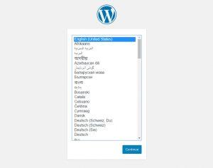 Seri Belajar WordPress - Pengenalan dan Instalasi WordPress - Instalasi WordPress - 1
