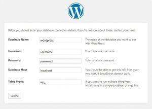 Seri Belajar WordPress - Pengenalan dan Instalasi WordPress - Instalasi WordPress - 3