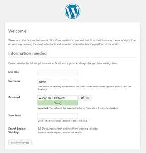 Pengenalan dan Instalasi WordPress 1
