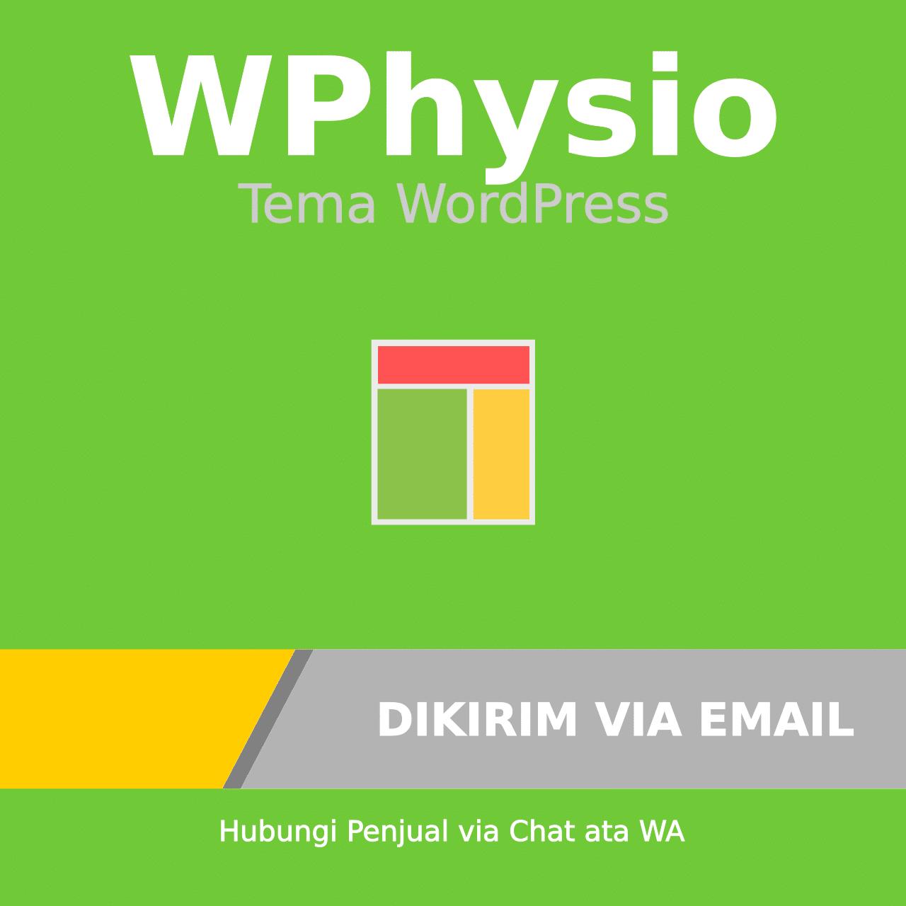 Tema WordPress Blogger WPhysio