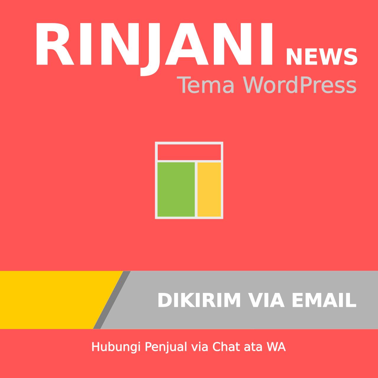 Rinjani News – Tema WordPress Multipurpose Untuk Blog, News dan Magazine