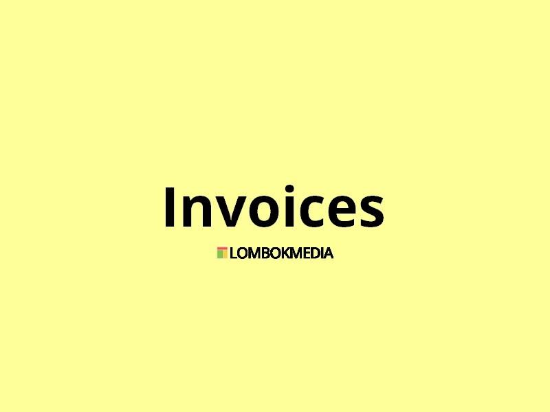 Plugin WordPress Invoice by Lombok Media
